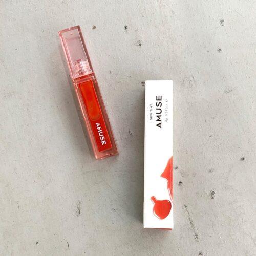 上品な水光色で唇を長時間カバー!AMUSE「デューティント」