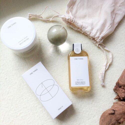 話題の韓国発DIYコスメ💕ONE THINGの化粧水で自分だけのスキンケアをカスタマイズ✨